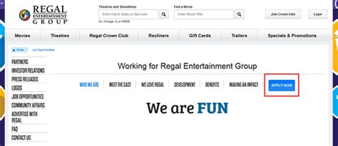 printable job application for regal cinema regal cinemas job application apply online