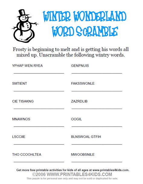 free printable winter word games free coloring pages of winter word search