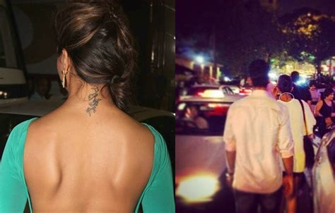 deepika padukone rk tattoo removed deepika padukone s rk still visible and not erased