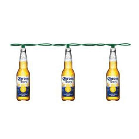 corona beer bottle light set entertainment earth
