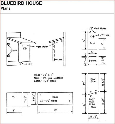 creating house plans creating bluebird habitat free bluebird house plans