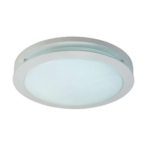 Flourescent Ceiling Light Hton Bay 2 Light Polished Chrome Ceiling Flushmount F567ch02 The Home Depot