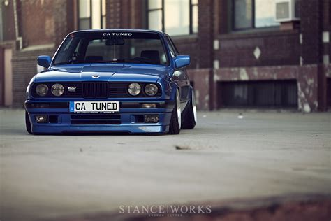 bmw slammed unexpected intentions catuned s bmw e30 325is