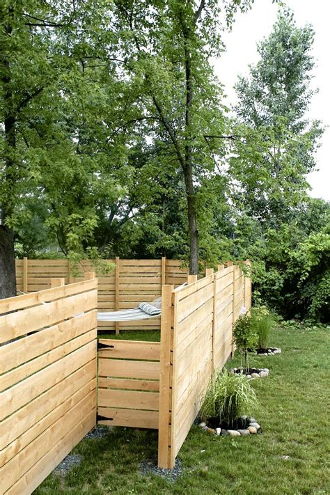building a backyard fence hometalk diy wooden backyard fence