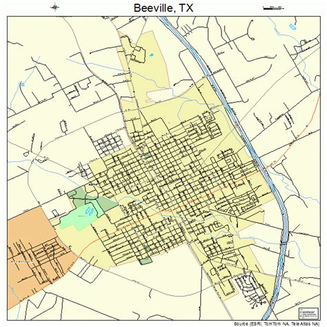 beeville texas map beeville texas map 4807192