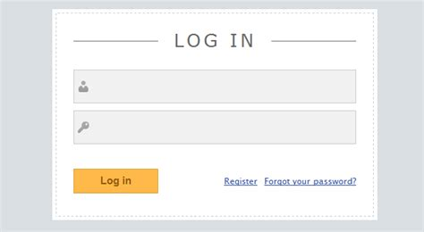 jquery mobile login page template slick login form with html5 css3