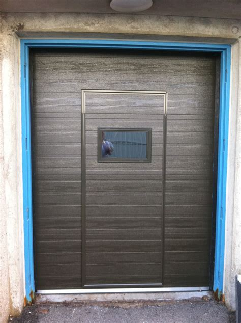 D D Garage Doors by Residential Walk Through Garage Door Installation Repair