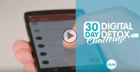30 Day Digital Detox by Day 6 30 Day Digital Detox Challenge Digital Detox