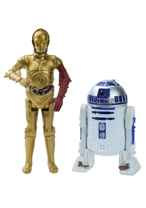 r figure wars r2d2 and c3po figures