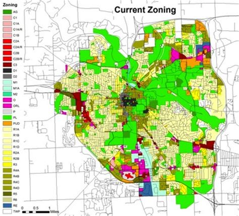 City Of Zoning Search City Of Arbor Zoning Map My