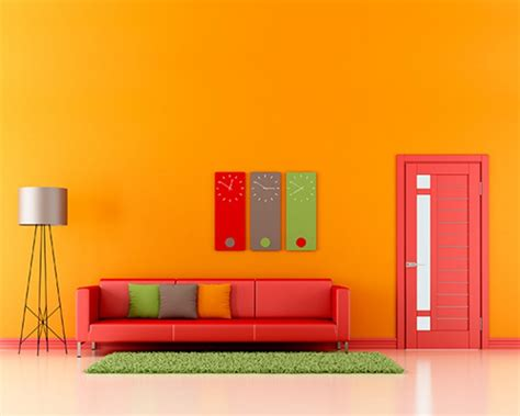 How To Make A Wall Sconce Light Make Home Decoration Fun With Light Orange Wall Paint