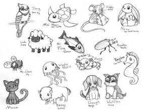 Cute animal sketches easy wallpapers gallery