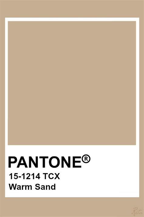 pantone warm sand pantone colour palettes pantone color