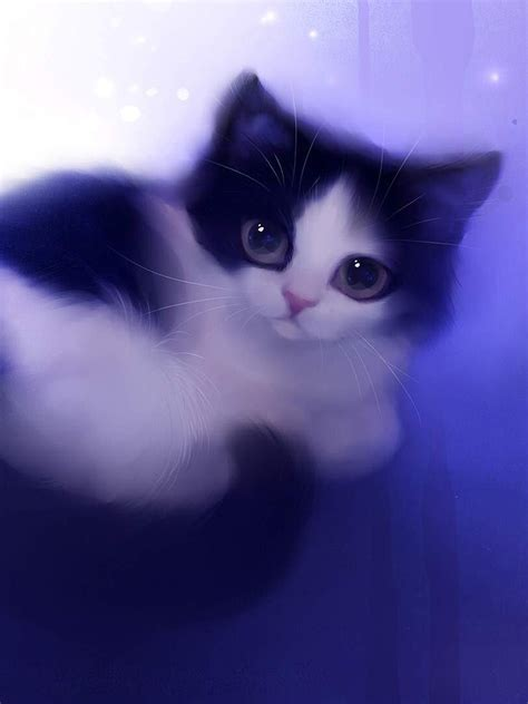 cute animated cats wallpaper