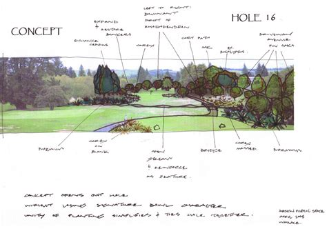 Landscape Architect Golf Course Design Golf Space 171 Design Space Landscape
