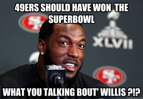 49ers should have won the superbowl what you talking bout