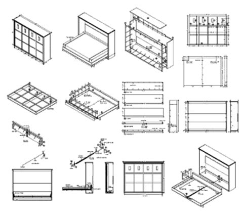 Murphy Bed Construction Details Plans To Build Your Own Murphy Bed
