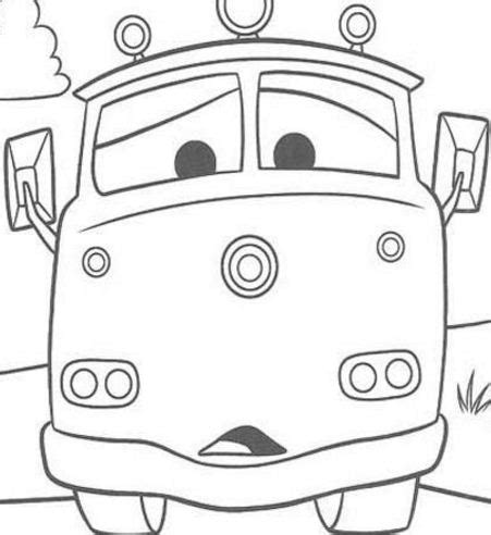 red fire truck cars coloring page disney the queen for kids cars 285da coloring page free