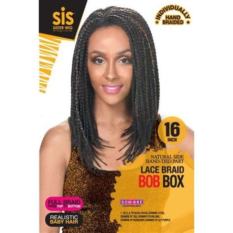 zury sister lace front braided jerry curl wig zury sis lace braid bob box hair and beauty pinterest