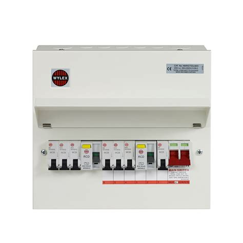 wiring diagram dual rcd consumer unit image collections