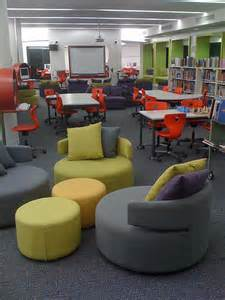 Comfy Library Chairs by Something Different Always Learning