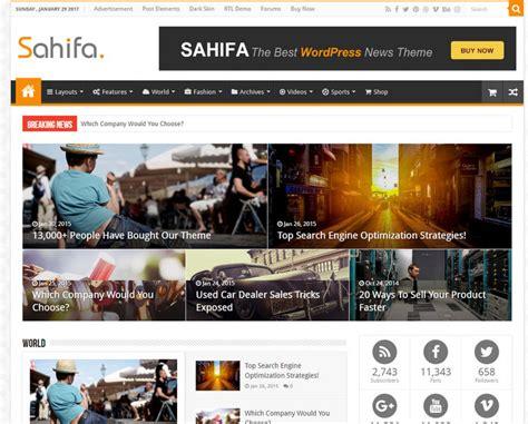 sahifa theme gallery 24 new quality magazine wordpress theme