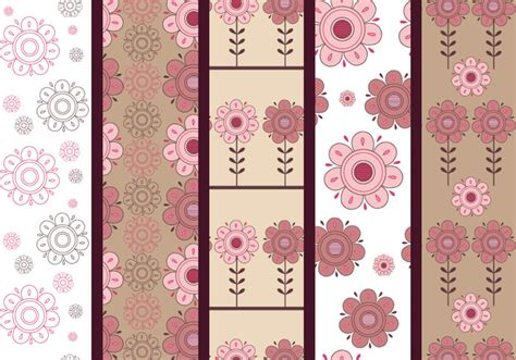 pattern brown pink pink and brown floral photoshop patterns free photoshop