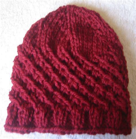 gorro acanalado tejido en dos agujas o palitos en 4 tallas una forma diferente de tejer gorros tejidos a dos agujas gorros tejidos