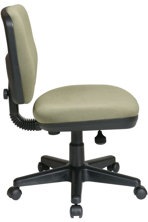 Office Chairs With Lumbar Support Sc3014 Office Contemporary Task Chair With Lumbar