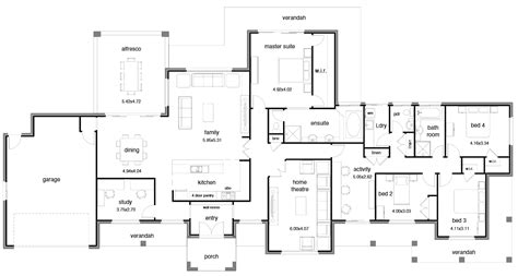 large open floor plans floor plan friday open wide block activity room house plans 58946