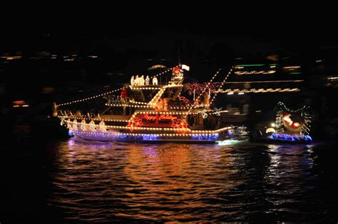 christmas boat parade sets sail for port canaveral
