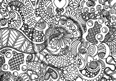 abstract coloring pages for adults and artists detailed coloring pages for teenagers of abstract