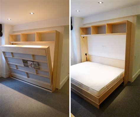 Pull Out Bunk Bed by Diy Murphy Beds Decorating Your Small Space