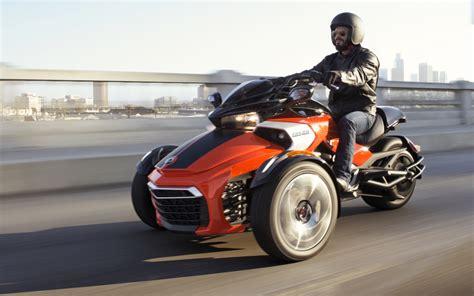 Dreirad Motorrad Can Am by Can Am Spyder F3 Un Nouveau Tricycle Au Catalogue 2015