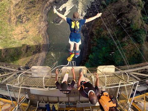 jumping off swings summary bungee jump victoria falls pure africa experiences