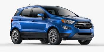 2018 ford ecosport compact suv ford suvs