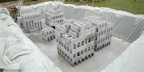 Prix Bloc A Bancher 4432 by Comment Construire Une Piscine Creus 233 E Ma 231 Onn 233 E