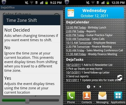 dejaoffice for android dejaoffice for android 1 12 2 now available companionlink