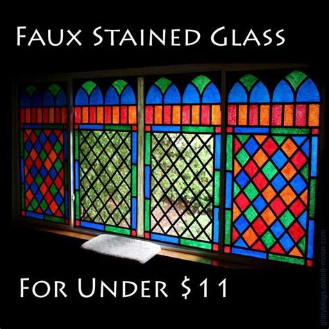 glass acrylic painting the 25 best faux stained glass ideas on pinterest