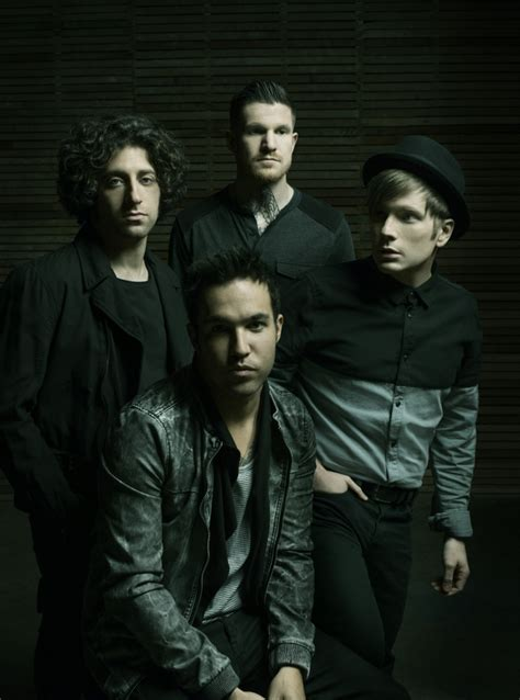 Fall Out Boy I pete wentz i to be happy for my metro news