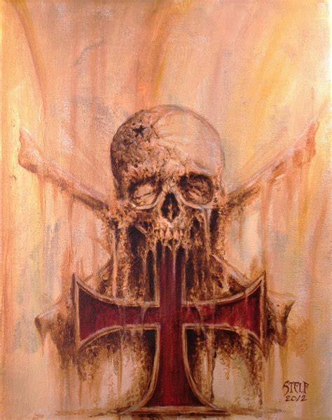 skull cross tattoos templar cross skull and crossed bones 01 by stelf 2014 on