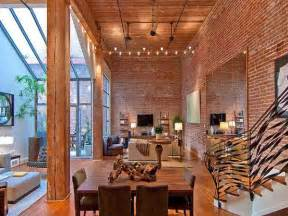 brick loft exposed brick and timber interiors flooded by light