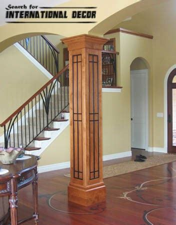 Decorative Interior Columns decorative columns stylish element in modern interior