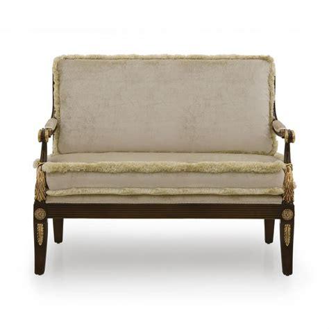 divani stile impero divano 2 posti in legno stile impero minerva sevensedie