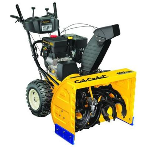 cub cadet 30 in two stage electric start gas snow blower