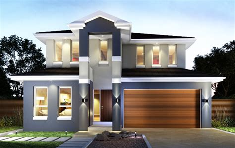 Townhouse Plans Narrow Lot double floor house