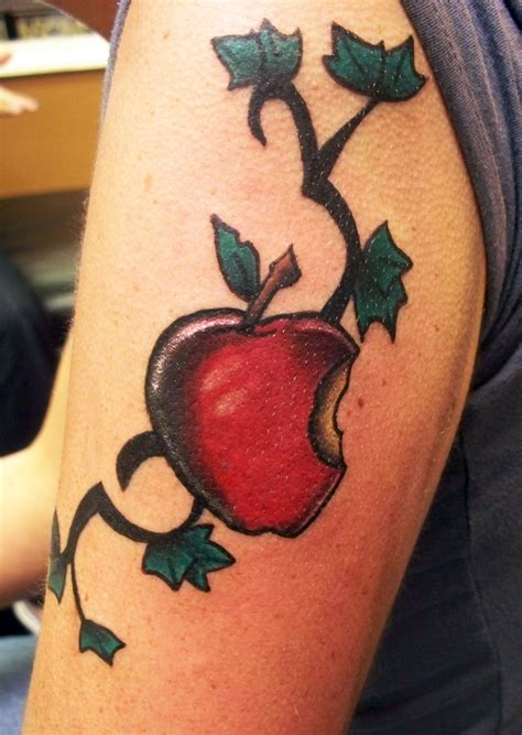 apple tattoos apple tattoos designs ideas and meaning tattoos for you