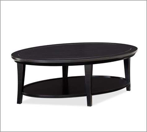oval black coffee table metropolitan oval coffee table black living room ideas