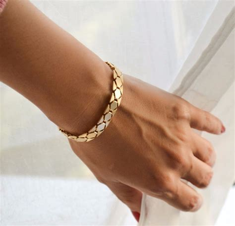 Gold bracelet   Argos   Pickture