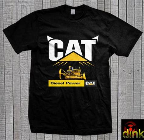 Kaos Caterpillar Diesel Power Kaos Hitam Dinomarket Pasardino Kaos Cat Caterpillar Diesel Power